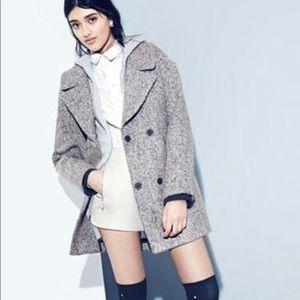 TOPSHOP Amelia Slouch Coat